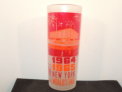 New York Worlds Fair Glass 1964-1965 The Federal Pavilion (13572)