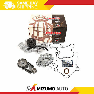 Timing Chain Kit Water Oil Pump Cover Gasket Fit 04-08 Chrysler Dodge 5.7
