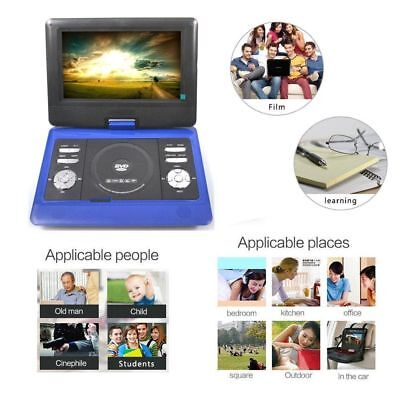 "#10"" inch New Rechargeable Swivel Screen Portable DVD Player+GAME+MP3+USB+SD"