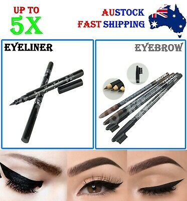 Lyra Black Waterproof Eyeliner Liquid Eye Liner Pen Eyebrow Eye Brow Pencil Hot