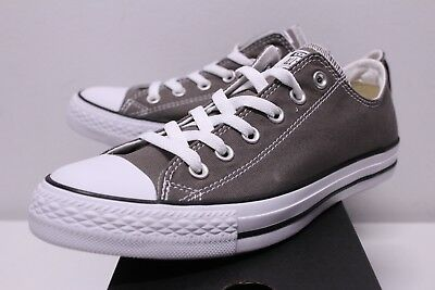 a5167d84a92 Converse Chuck Taylor All Star Ox Low Charcoal Gray Sneakers Men's Size  8-13 New