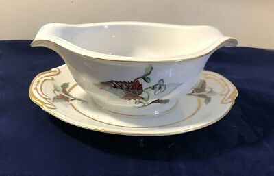 Imperial by Craftsman China (Japan) Gravy Boat w/attached under plate