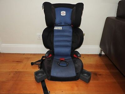 Blue / Grey SAFE N SOUND BRITAX CHILD BABY HI-LINER SG Car Seat BOOSTER - Kedron