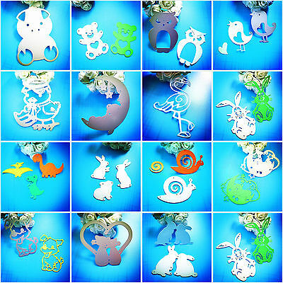 Metal Cutting Dies Animals DIY Scrapbooking Album Paper Crafts Card Embossi I6Z2