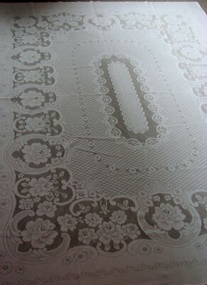 Quality White Net Tablecloth >  Made in Japan