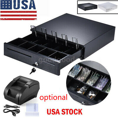 Cash Drawer Box 5 Bill & 5 Coin Tray /Star POS Printers+58mm POS Thermal Printer