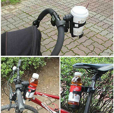 Bottle Cup Holder for Baby Stroller/Pushchair and Bike,  360 Degrees Rotation