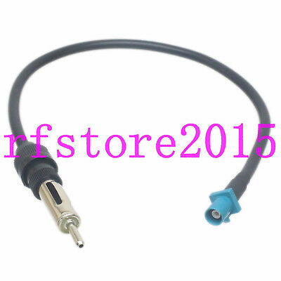 Cable RG58 1FT DIN Male to Fakra SMB Z 5021 Male For Car Stereo Antenna