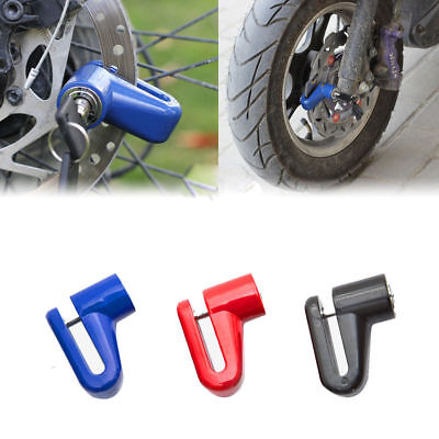 Bicycle Moped Scooter Disk Brake Lock Security Anti Theft Heavy Duty Motorcycle