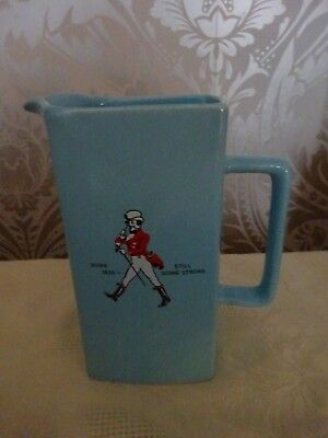 Wade Pottery Advertising Johnnie Walker Blue Square Whisky Water jug Rare