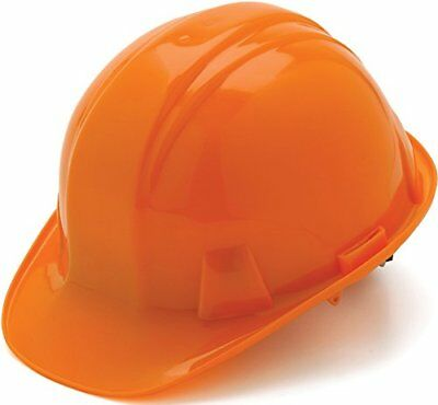 Pyramex Cap Style 4 Point Ratchet Suspension Hard Hat with Rain Trough - Low