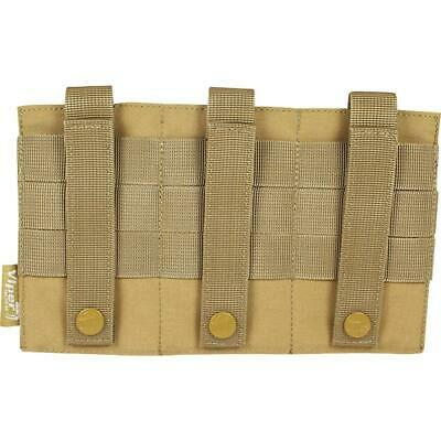 Viper Low Profile Triple Magazine Plate Pouch Carrier VTMAGPL Softair Airsoft