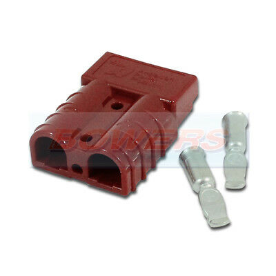 Red Anderson Plug Sb50 Housing Contacts Cable High Current Connector Battery