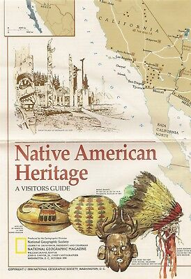 Native American Heritage Indian Reservation History Map Tribal Centers Museums