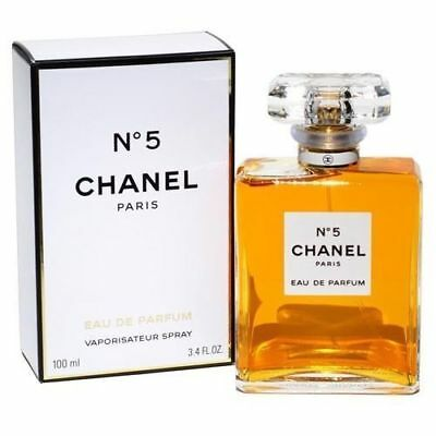 CHANEL N°5 Eau De Parfum Spray 3.4oz/100 ml New for Women
