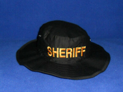 SHERIFF Boonie Hat  DEPUTY, POLICE, SECURITY hat