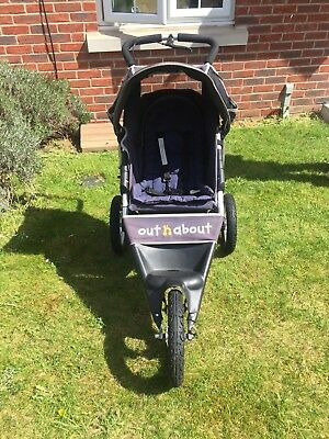 Out n About Nipper Sport Running Buggy