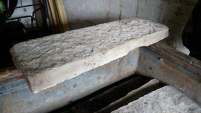 York Stone Large Thick Lintel/Flag/Paving/Step Reclaimed
