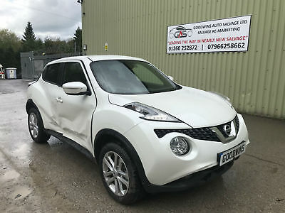 2018 Nissan Juke 1.2 Dig-T N-Connecta Accident Damaged Repairable Salvage