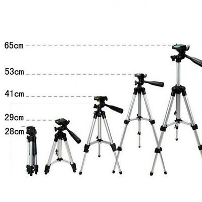 Aluminum Camera Camcorder Portable Tripod Stand Holder For Canon Nikon
