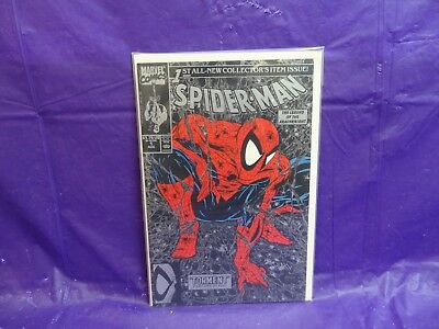 Marvel Comics: Spider-Man #1 1St All-New Collector's Item Issue! Aug 1990 ~
