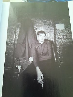 Ian Curtis Joy Division Rehearsals Manchester 1979 from Music Book 28x18cm