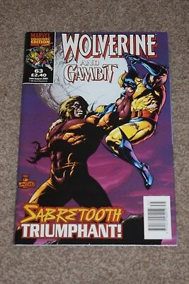 marvel collectors edition  Wolverine and gambit no 63 Panini  2001
