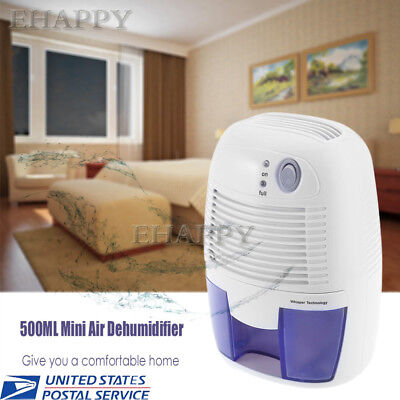 500ML Dehumidifier Quiet Home Air Dryer Damp-proof Absorbing Moisture Home Bath