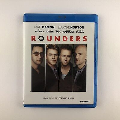 Rounders (Blu-ray, 2013) *US Import Region A*