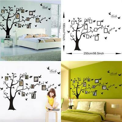 FAMILY TREE WALL Photo Frame Set Picture Collage Home Decor Art Diy ...