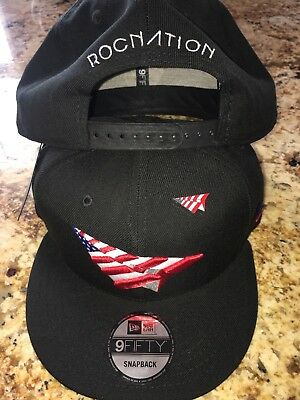 eaebe1466e9 Roc Nation American Dream 🇺🇸 Snapback Hat With Pin Paper Planes Last 1!