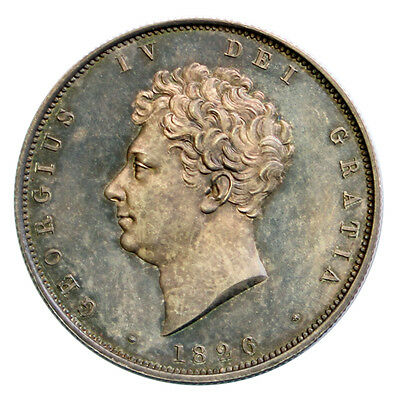 1826 Proof Half Crown Slabbed By Ngc Pf64 Cameo