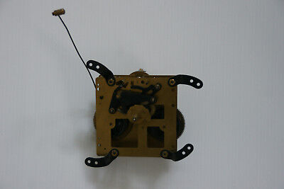 Architectural Brass Dutch Wall Clock Mechanism - Nu Elck Syn Sin Spare Parts