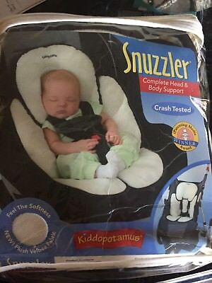 Kiddopotamus Snuzzler Baby Infant Head And Body Support Car Seat Positioner