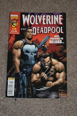 marvel collectors edition  Wolverine and deadpool no 119 Panini  2006