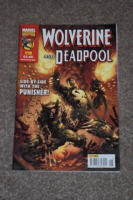 marvel collectors edition  Wolverine and deadpool  no 118 Panini  2006
