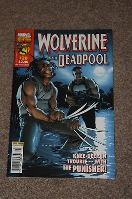 marvel collectors edition  Wolverine and  deadpool no120 Panini  2006