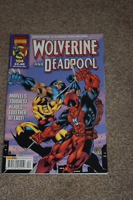 marvel collectors edition  Wolverine and  deadpool no104 Panini  2006
