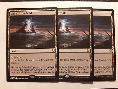 Cabal Stronghold x 1 MTG Magic the Gathering