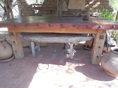 Dining Table Old West Ranch Desert Hardwood Arizona Mesquite Sabino Home Holiday