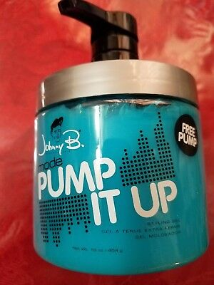 Johnny B Gel Mode Pump It Up 16 Oz Styling