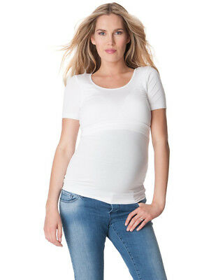 Seraphine white maternity and nursing shirt (M)