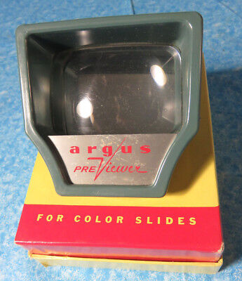 Vintage Argus Slide Previewer with Original Box