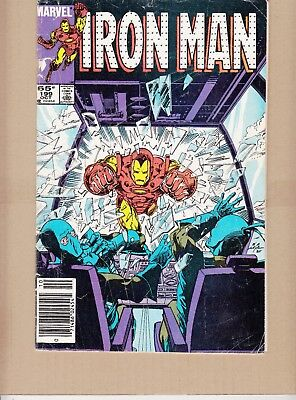Iron Man  #199 1985 -And One Of Them Must Die- O'neil/ Trimpe...vg
