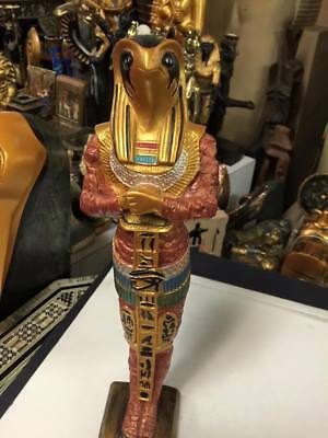 Amazing Unique God Horus Statue Egyptian Museum Art Hand Carved Made in  Egypt