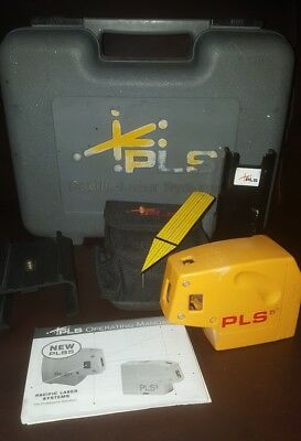 Pacific Laser Systems PLS-5 Laser Level with Case