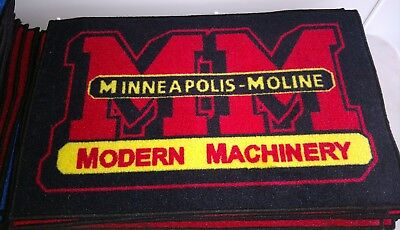 Minneapolis Moline Vintage Retro logo door mat