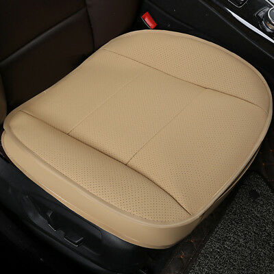 Luxury PU Leather Front Seat Protector Cushion Universal Car Seat Cover