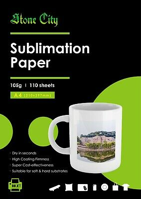 DYE SUBLIMATION TRANSFER Paper for Sawgrass and Epson 100
