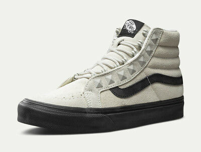 2f5313bb66 NEW WOMEN S 8.5 Vans Sk8-Hi Slim Iron Brown True White Skate Shoes ...